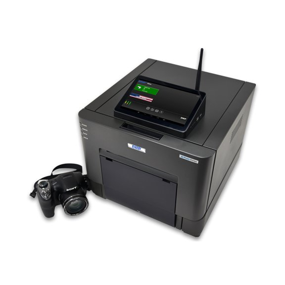 DNP IDW500 Passport and ID Photo Solution Set, Includes IDW-SH30 Sony Camera, FlashAir Card, Touchscreen Monitor, and ID Photo Printer