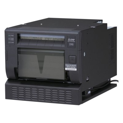 Mitsubishi CP-D90DW High-Speed Dye Sublimation Digital Color Printer Optional SelFone Wireless Print Station