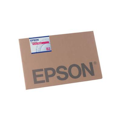 "Epson Enhanced Matte Posterboard (24 x 30"", 10 Sheets) S041598"