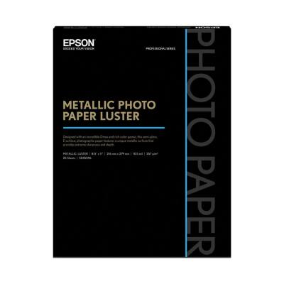 Epson Mettallic Photo Luster Paper 8.5x11