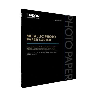 Epson Mettallic Pohoto Luster Paper 17x22