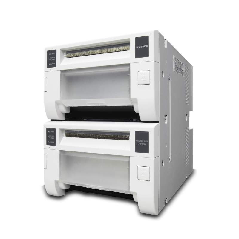 Mitsubishi CP-D707DW Dye Sublimation Photo Booth Printer