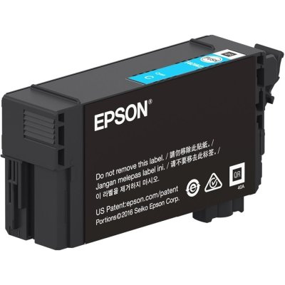 Epson T40W220 UltraChrome XD2 Cyan Ink Cartridge (50 mL)