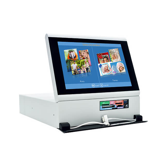 DNP DS-Tmini-U Kiosk Order Snap Lab System 10.1-inch Touchscreen Terminal