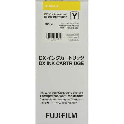 Fujifilm DX100 VIVIDIA Yellow Ink Cartridge (200ml)