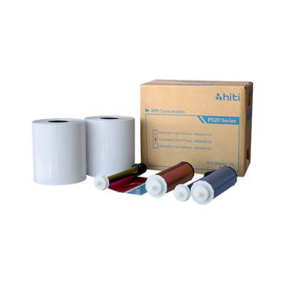 "HiTi P520L & P525L 5x7"" Photo Printer Print Kit (2 Rolls, 580 Prints)"