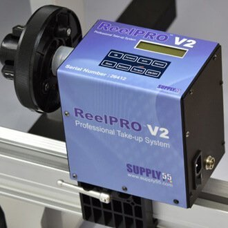 ReelPRO V2 Universal Automatic Take-up Reel System for Inkjet Printer & Laminator