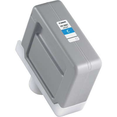 Canon PFI-306C Cyan Ink Cartridge (330 ml) for iPF8300, iPF8300S, iPF8400, iPF8400S, iPF8400SE, iPF9400, iPF9400S Printers