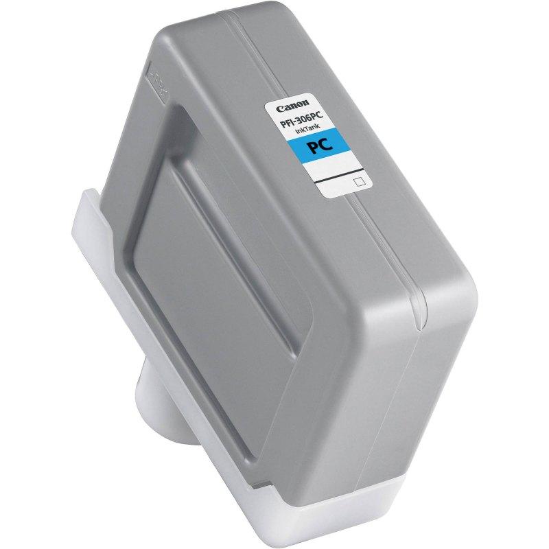Canon PFI-306PC Photo Cyan Ink Cartridge (330 ml) for iPF8300, iPF8300S, iPF8400, iPF8400S, iPF8400SE, iPF9400, iPF9400S Printers