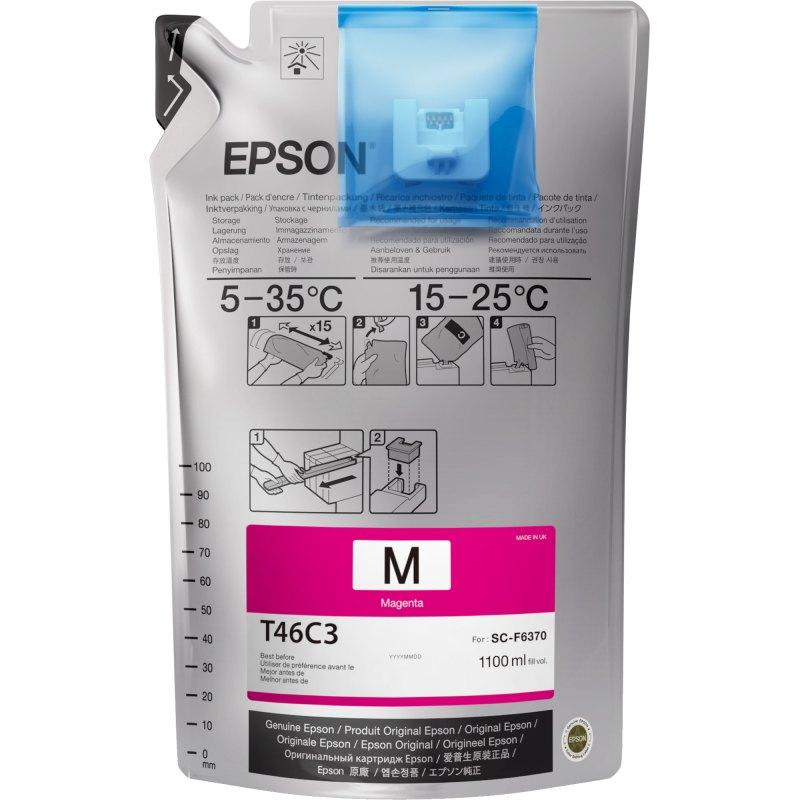 Epson T46C320 UltraChrome DS Magenta 1100 mL (Single Pack)
