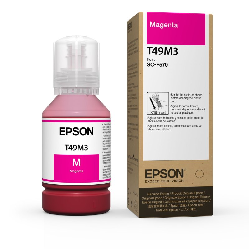 Epson T49M3 UltraChrome DS Magenta Ink for SureColor F570 (140 mL)
