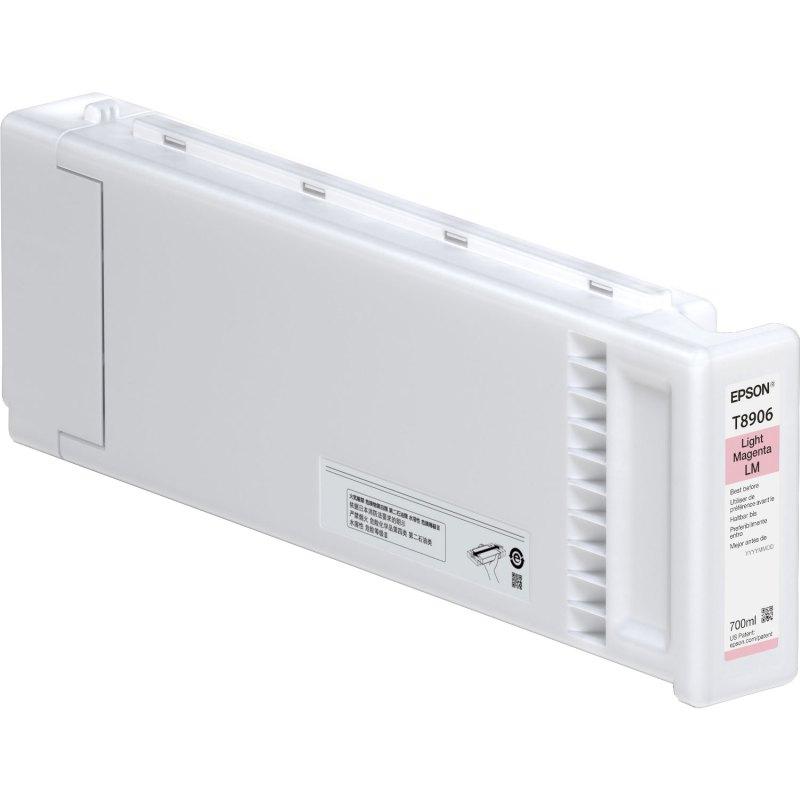 Epson T890600 UltraChrome GS3 Solvent Light Magenta Ink (700 ml)