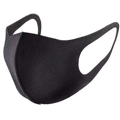Fashion Black Mask, Washable, Reusable Mask