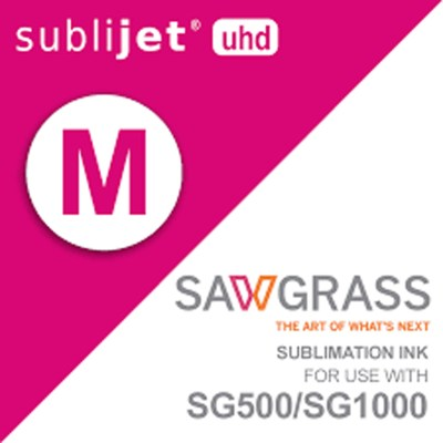 Sawgrass SubliJet-UHD SG500/SG1000 Sublimation Magenta Ink Cartridges 31 ml