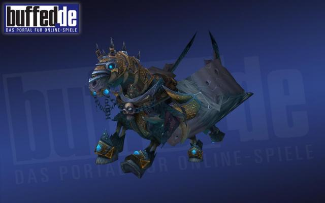 WoW Patch 33 Arthas Pferd Invincible In Aktion