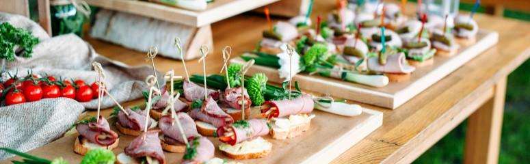 idee repas entre amis buffet traiteur