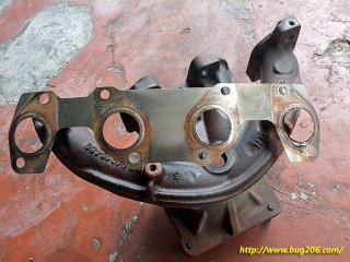 Exhaust manifold gasket, replaced as some carbon trying to escape in between. Sign of failure