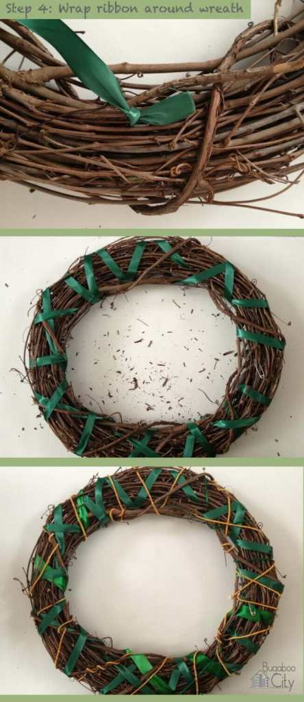 Step 4. Jungle Wreath Tutorial!