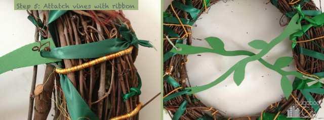 Step 5. Jungle Wreath Tutorial!