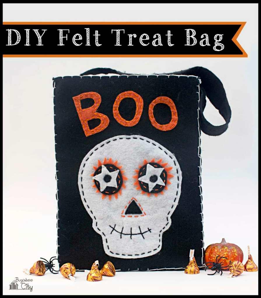 DIY Halloween Felt Treat Bag