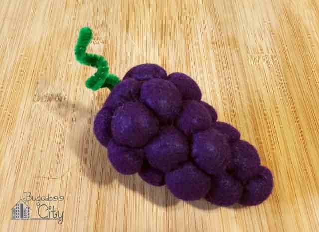 Felt Grapes!