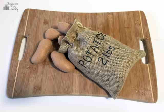 Felt Potatoes
