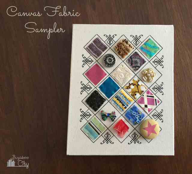 Canvas Fabric Sampler