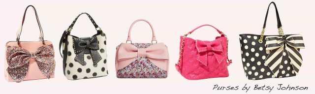 Betsy Johnson purses