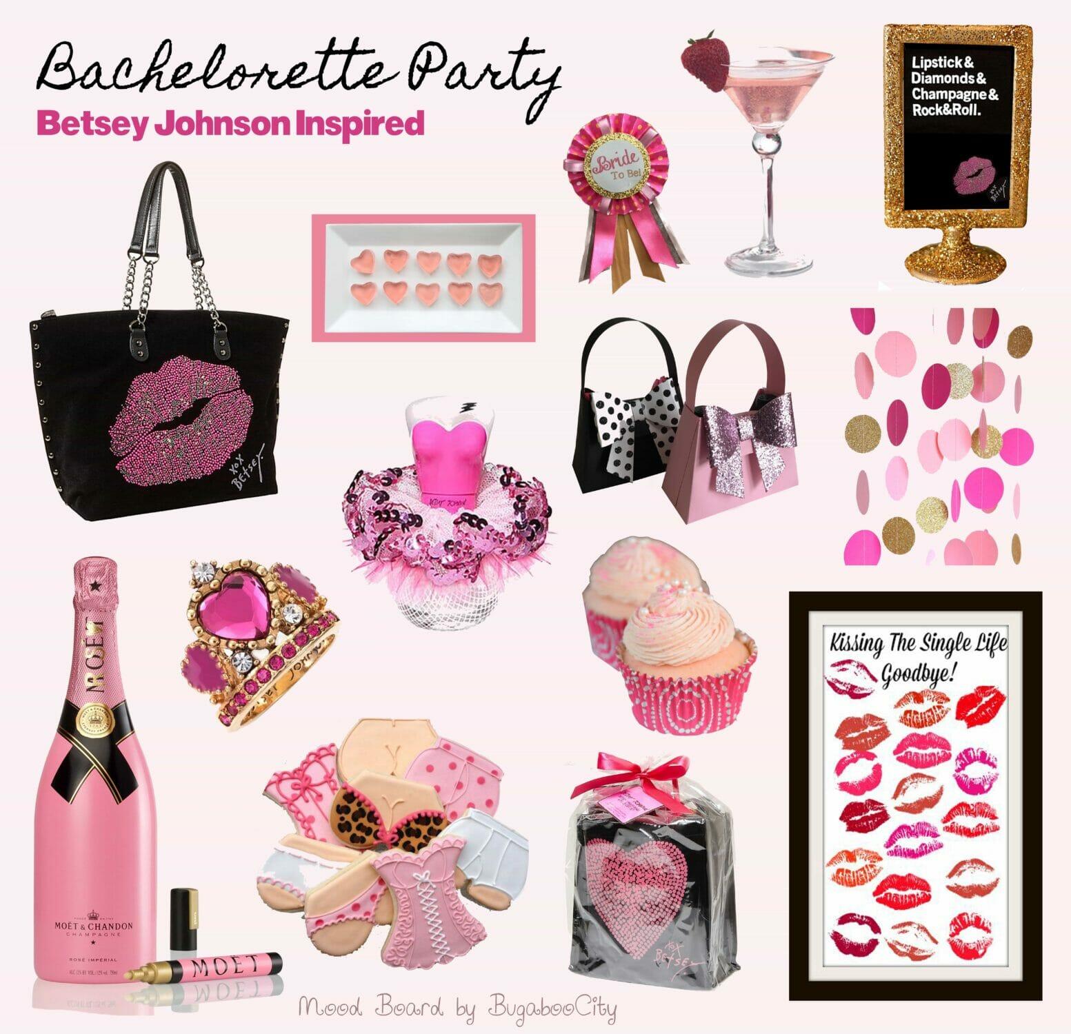 Bachelorette party favors paper purse bugaboocity for Bachelorette party decoration ideas diy