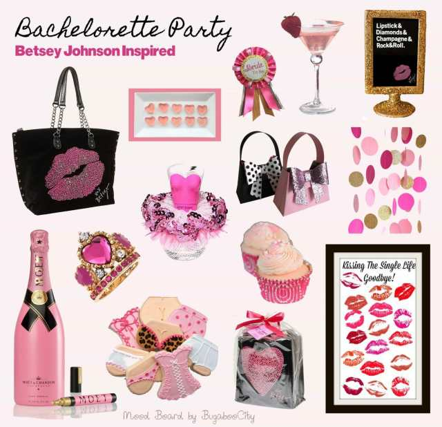 Betsey Johnson Bachelorette Party Mood Board - Be inspired!