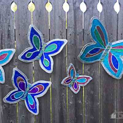 DIY Butterfly Garden Ornament