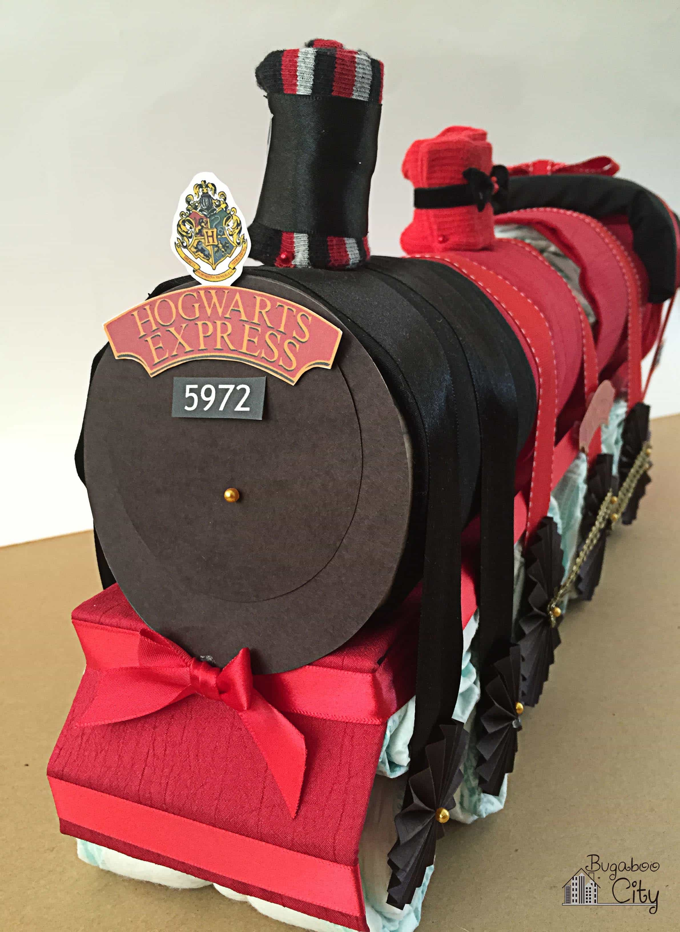 supplies needed for harry potter hogwarts express diaper cake
