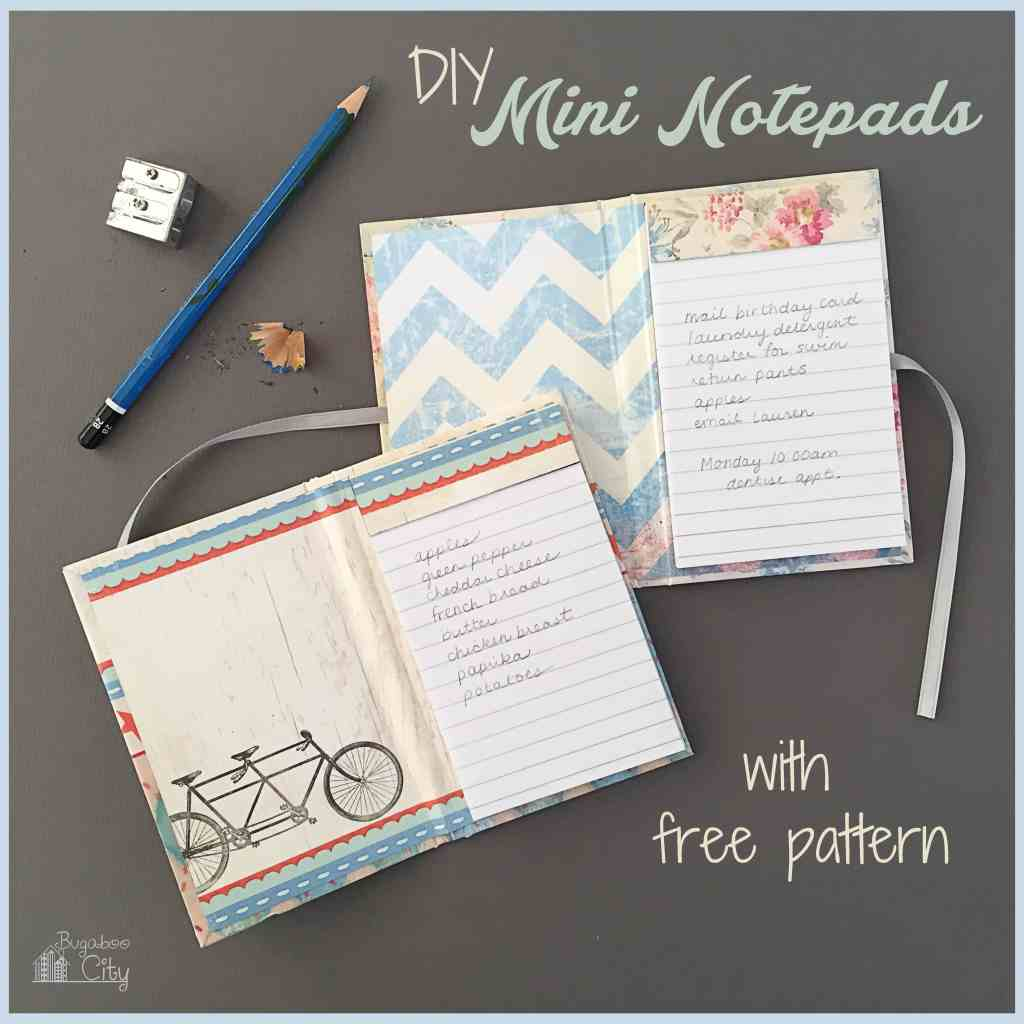 DIY Mini Notepad Gifts 0
