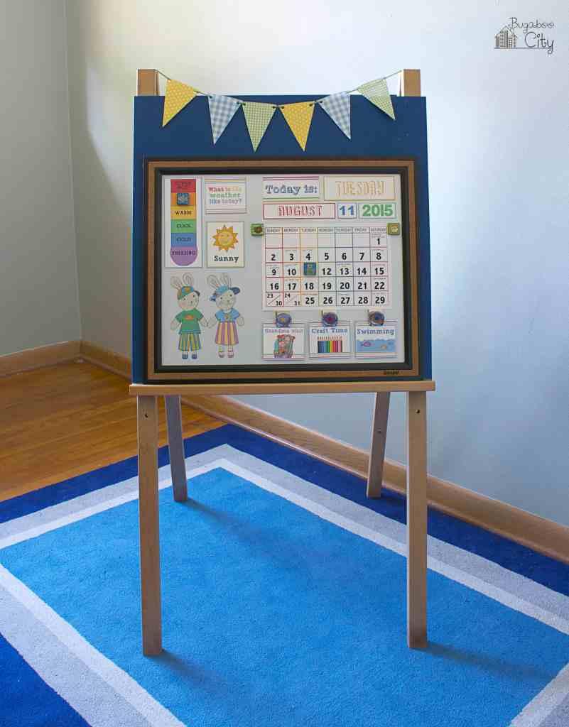 DIY Toddler Calendar