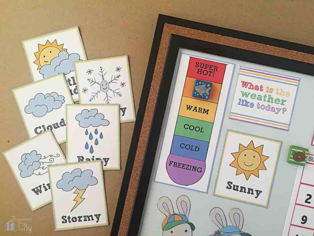 DIY Toddler Calendar 12