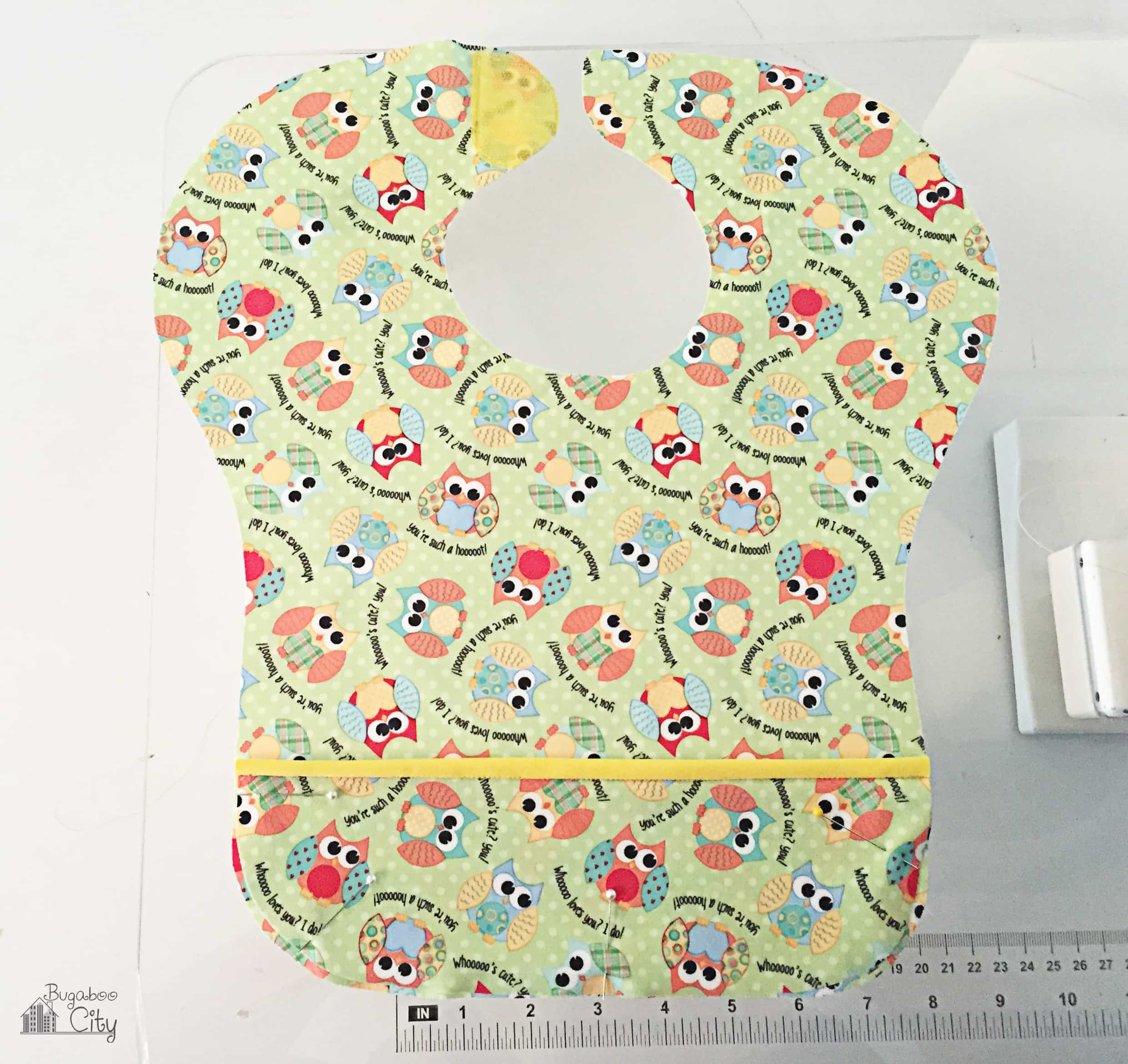 Diy waterproof bib bugaboocity diy waterproof baby bib 5 baditri Images