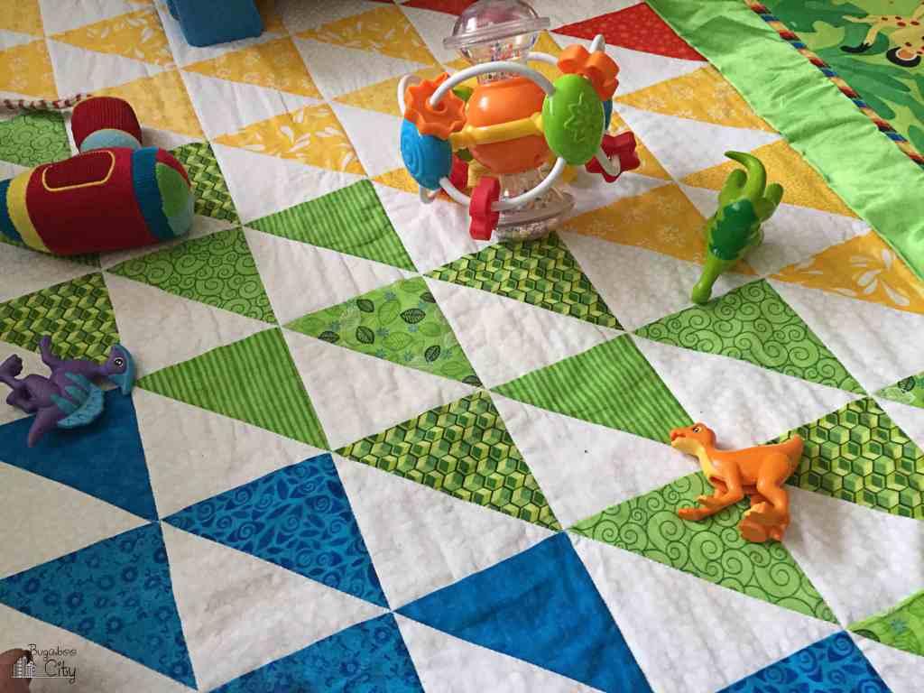 ABC Animal Nursery Rainbow Quilt