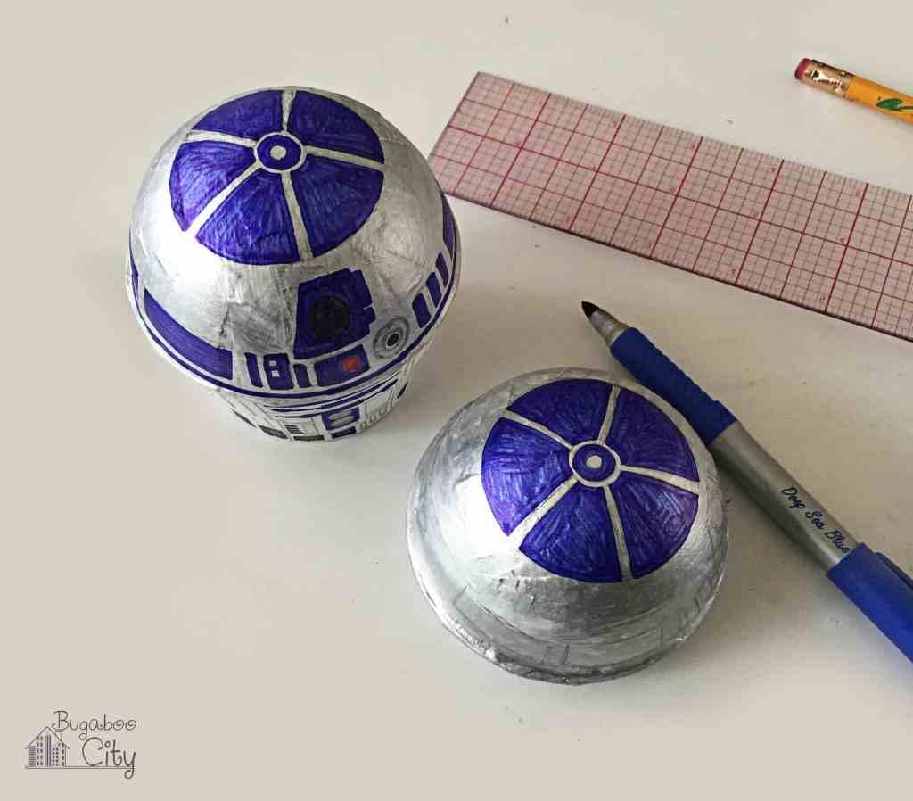 R2D2 Treat Box Star Wars Party Favors