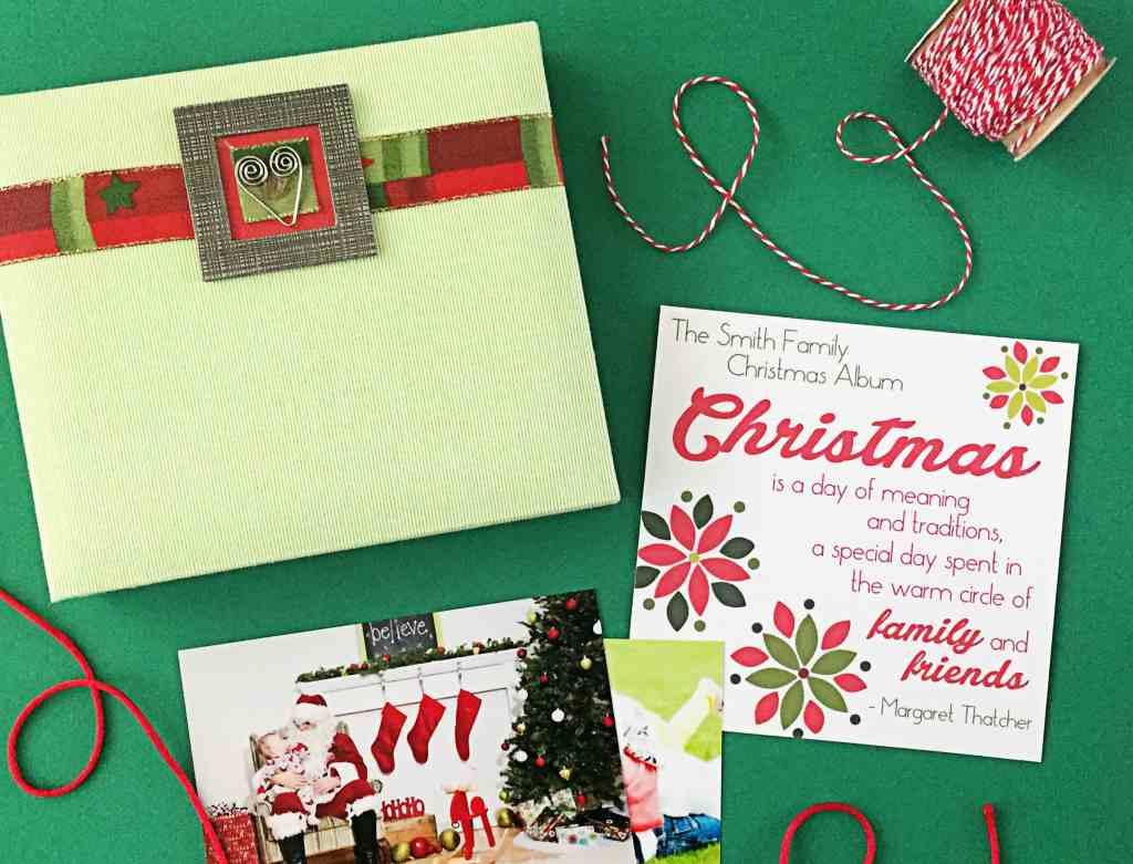 Christmas Family Scrapbook 11