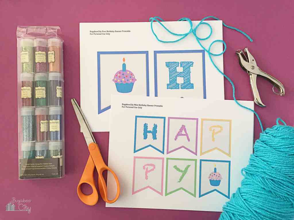 Birthday Banner Free Printable