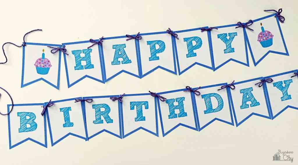 happy birthday banner bugaboocity
