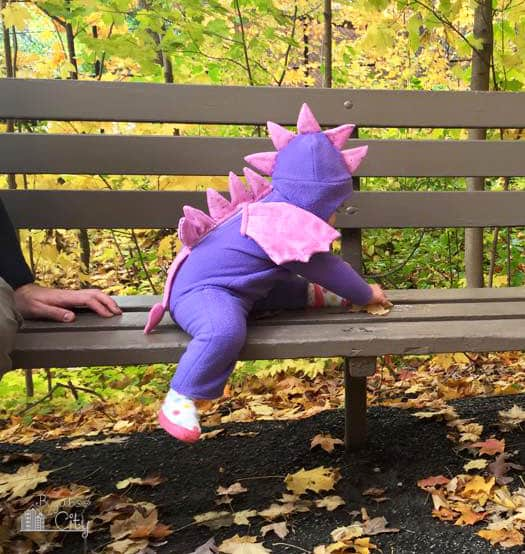 DIY Baby Dragon Costume 6