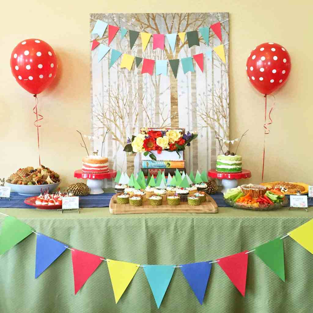 Woodland Book Party