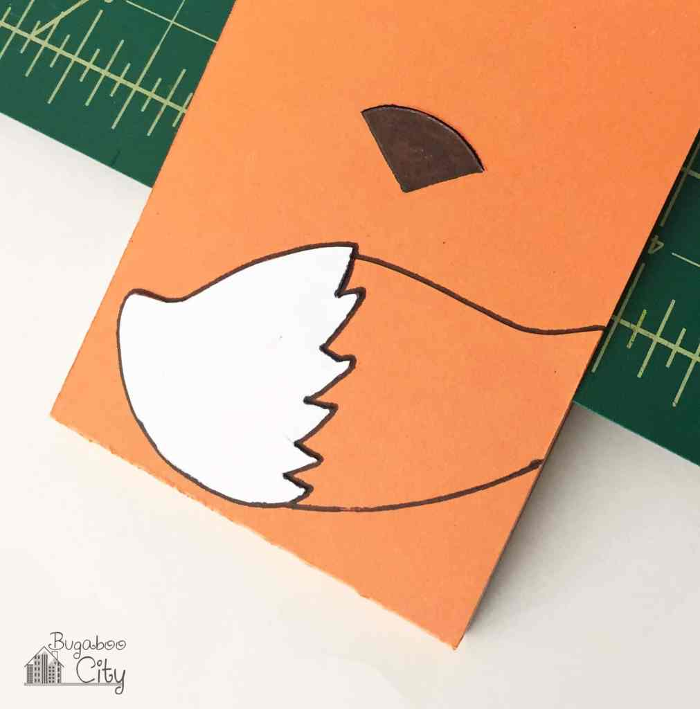 DIY Fox Notepad