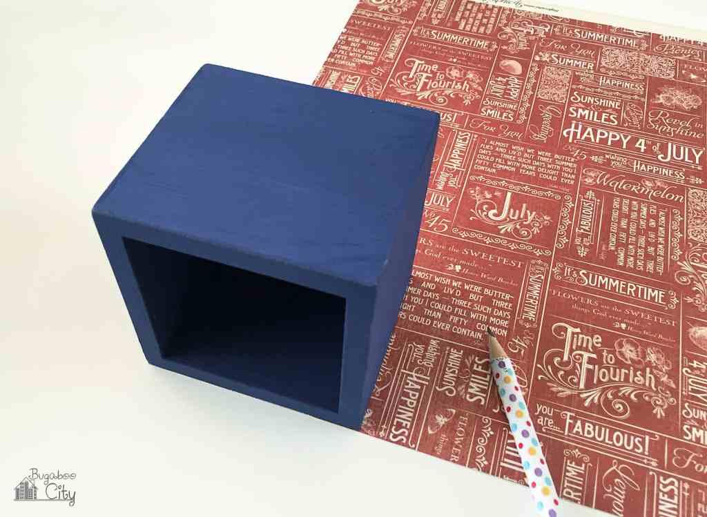 Floral Decoupage Boxes