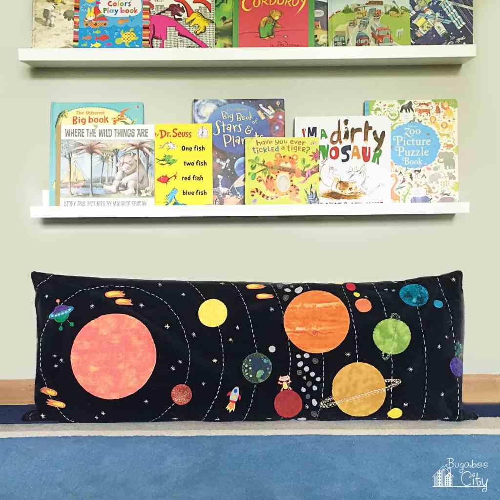 DIY Solar System Space Pillow