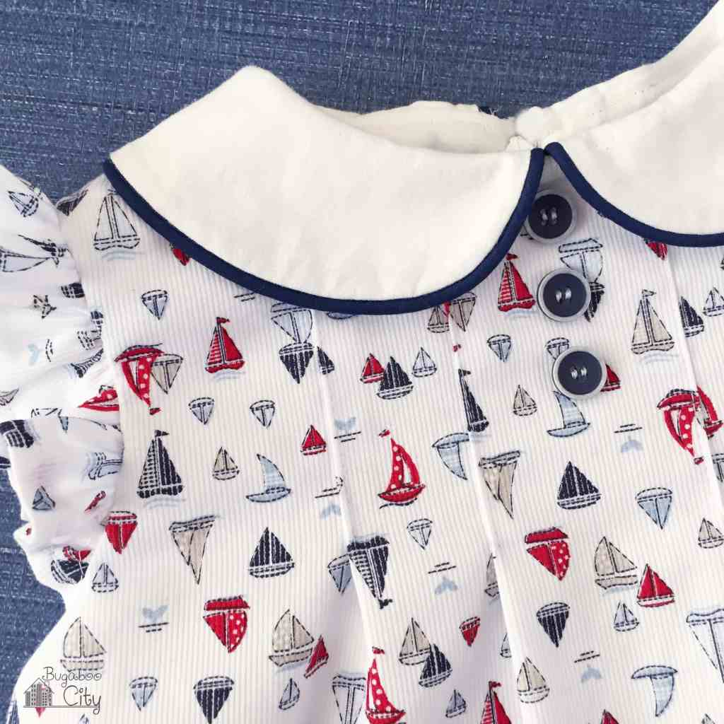 Nautical Baby Dress
