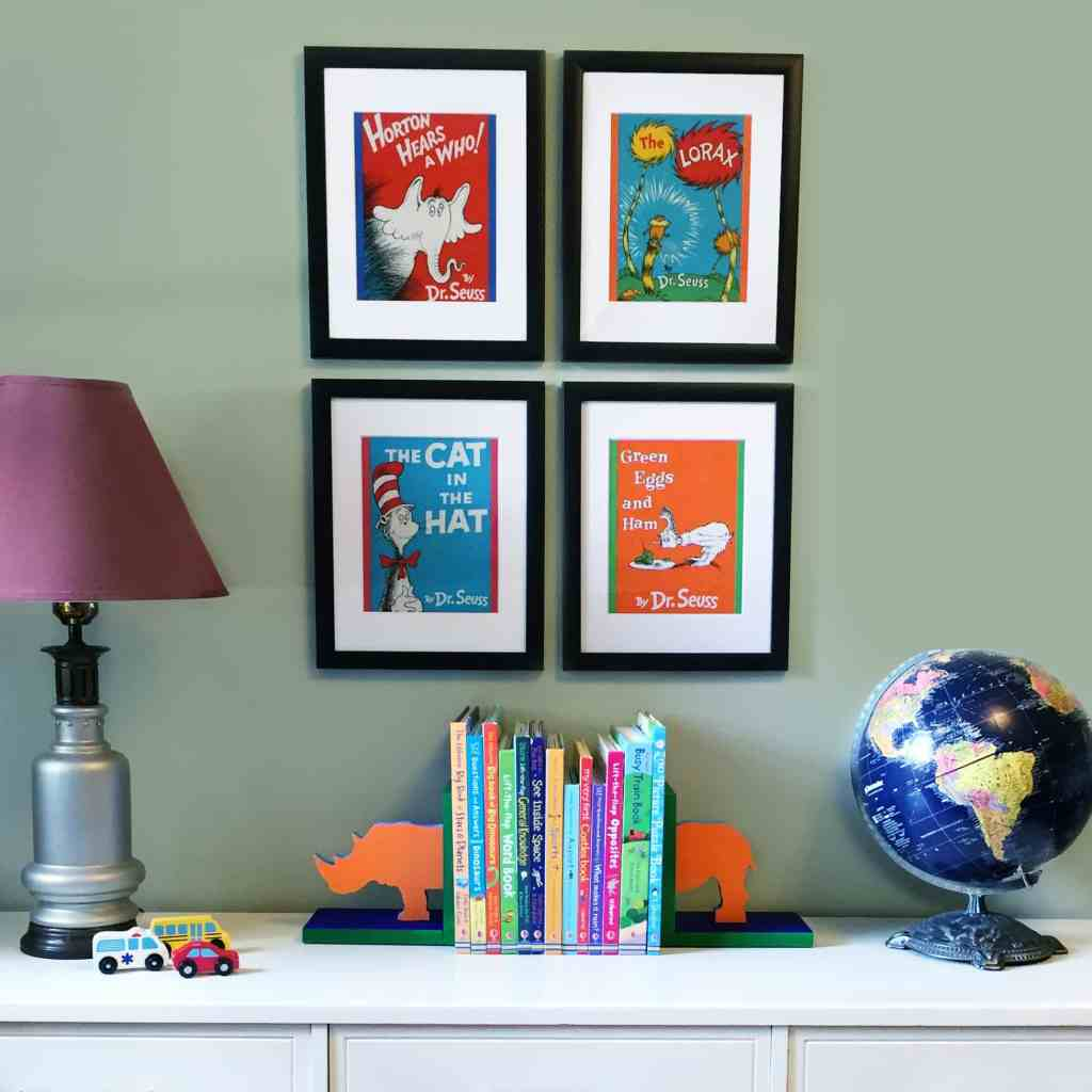 Dr. Seuss Gallery Wall