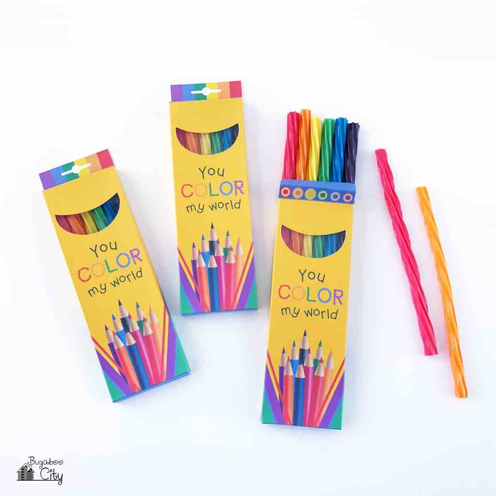 BugabooCity Colored Pencil Treat Box