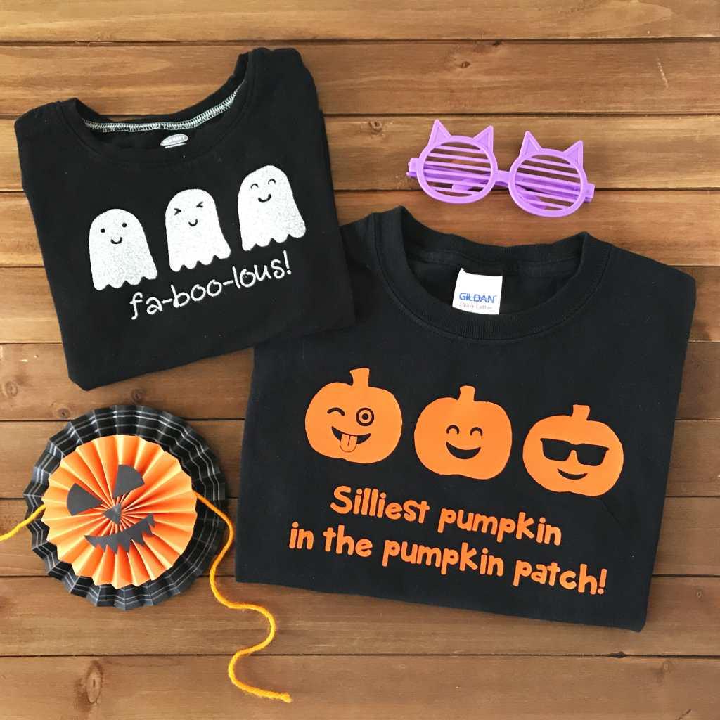 Diy Iron On Halloween Shirts Free Svg Cut Files